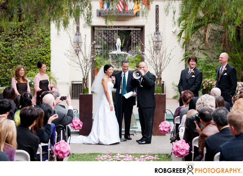 Los Angeles River Center & Gardens Wedding Photos