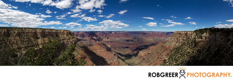 Panorama Photograph of Grand Canyon National Park