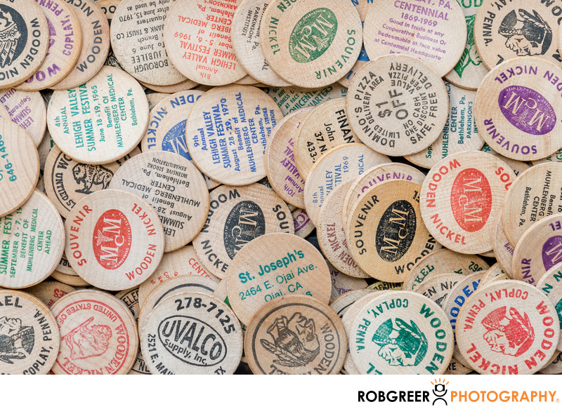 Wooden Promotion Tokens
