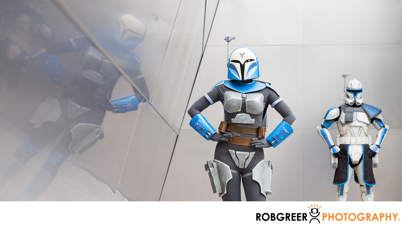 Bold Bo-Katan at Walt Disney Concert Hall