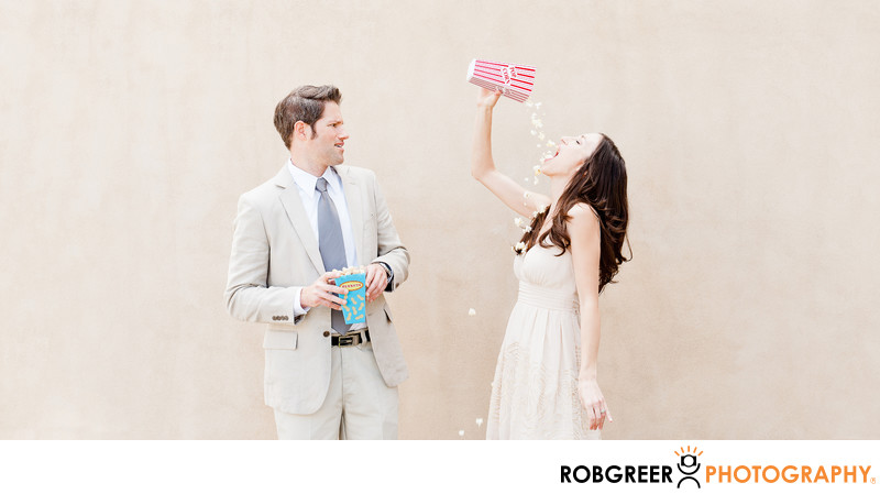 Fun Engagement Session Photography in Pasadena