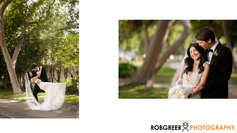 Fun Portraits at Beverly Gardens Park in Beverly Hills