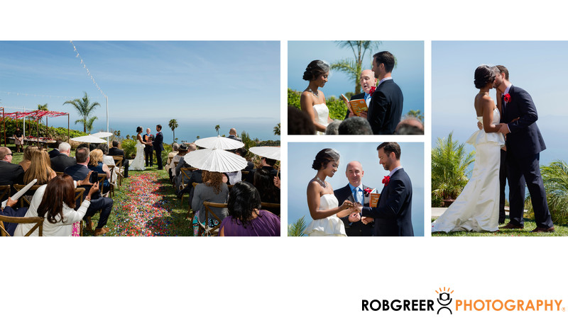 Wedding Ceremony Private Estate Rancho Palos Verdes