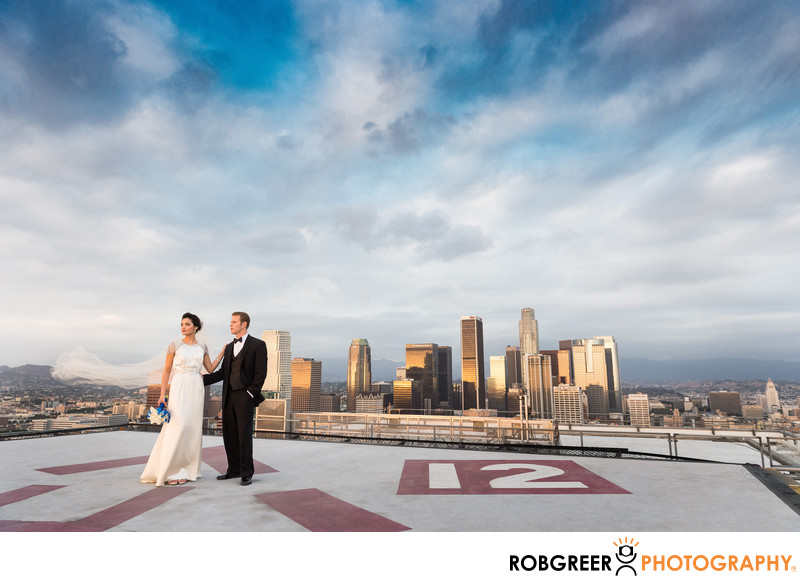 AT&T Center Los Angeles Wedding Photographer