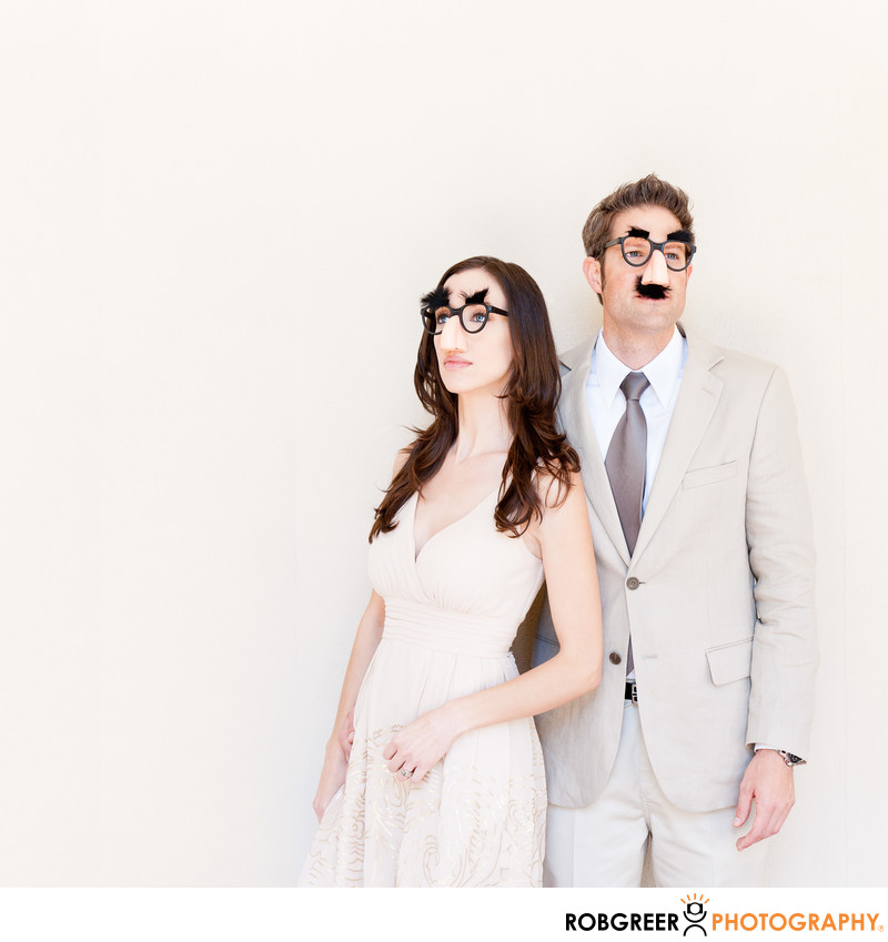 Groucho Marx Engagement Session