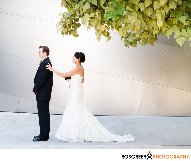 Walt Disney Concert Hall First Look Before Wedding
