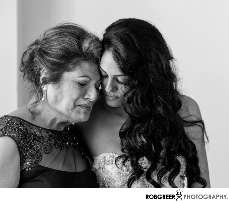 Tender Mother of the Bride Moment at Pasadena Westin