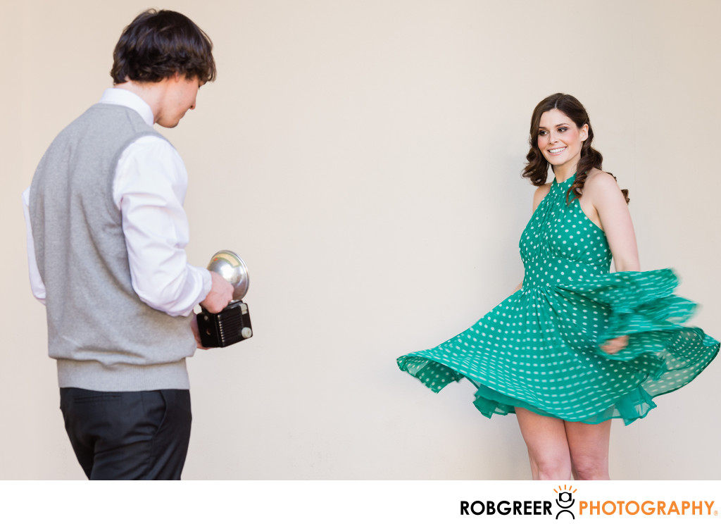 Playful Engagement Photography