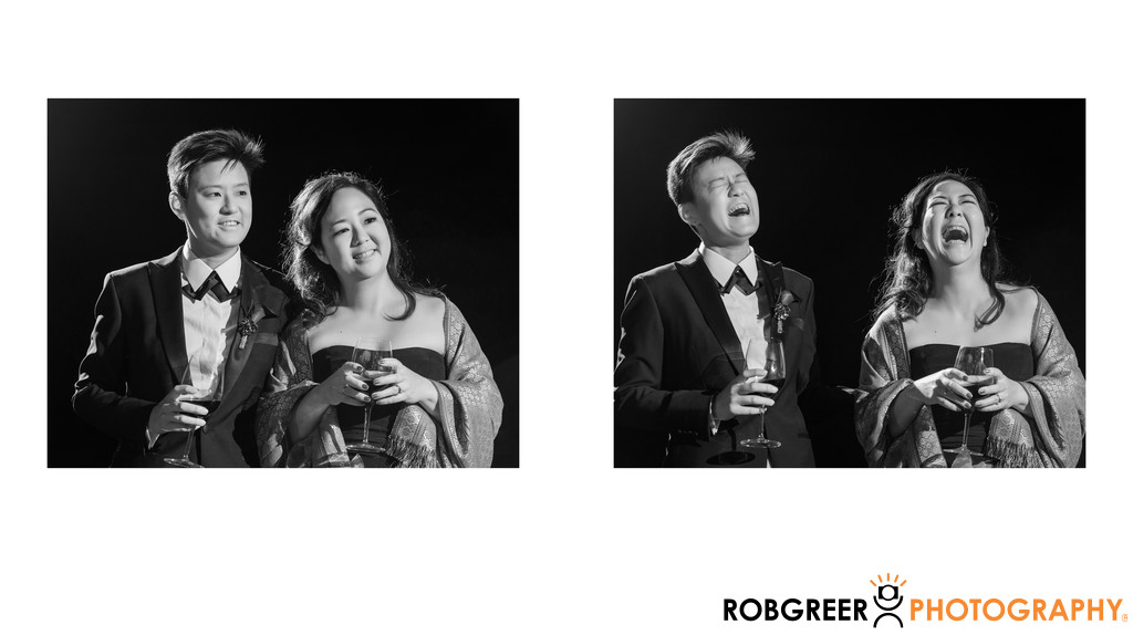 Couple' Reactions to Reception Speeches