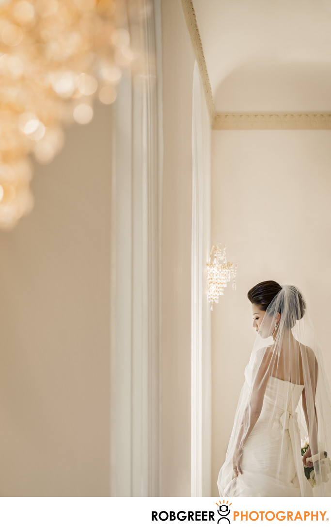 Portrait of Bride at Ambassador Mansions and Gardens