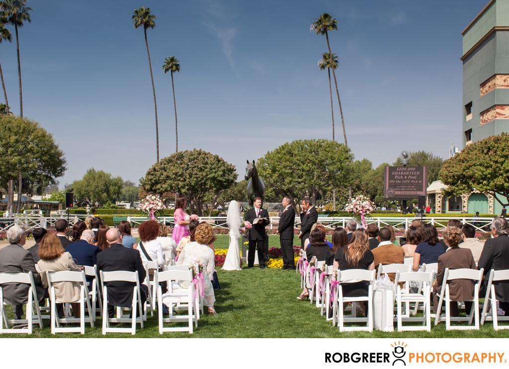 Santa Anita Park Wedding Photographer