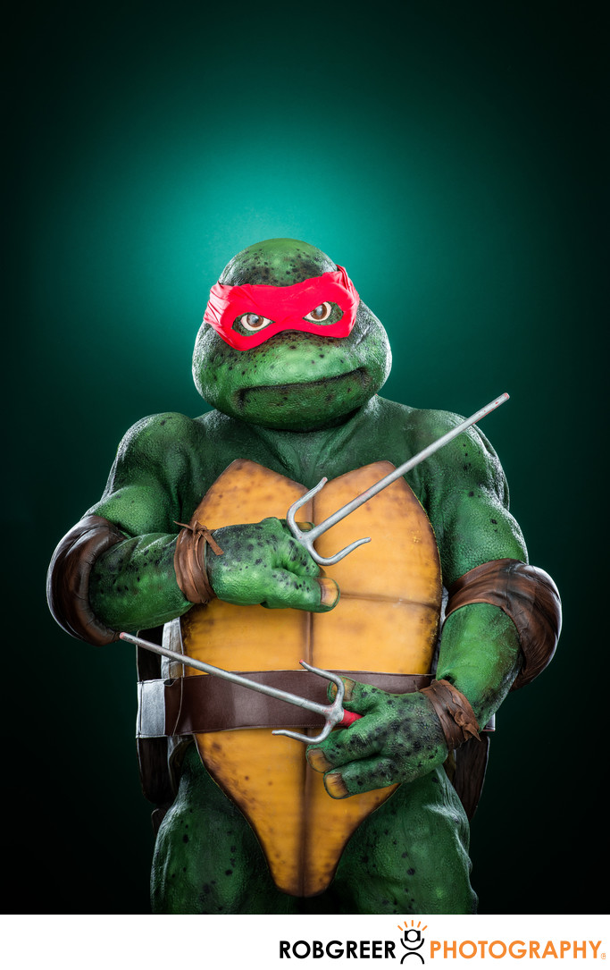 Daniel Bravo, Rafael Teenage Mutant Ninja Turtle