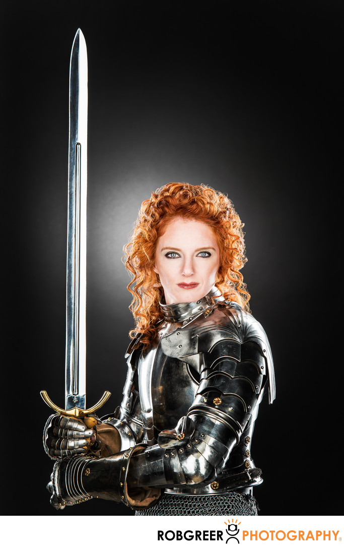 Virginia Hankins, Modern Day Lady Knight
