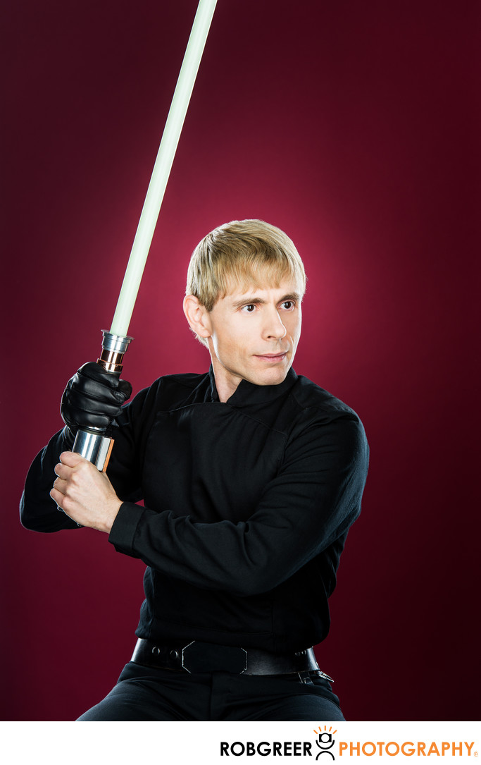 Lawrence Green, Jedi Knight Luke Skywalker