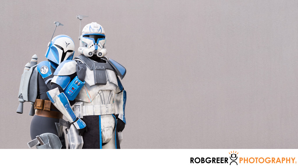 Captain Rex & Bo-Katan Embrace