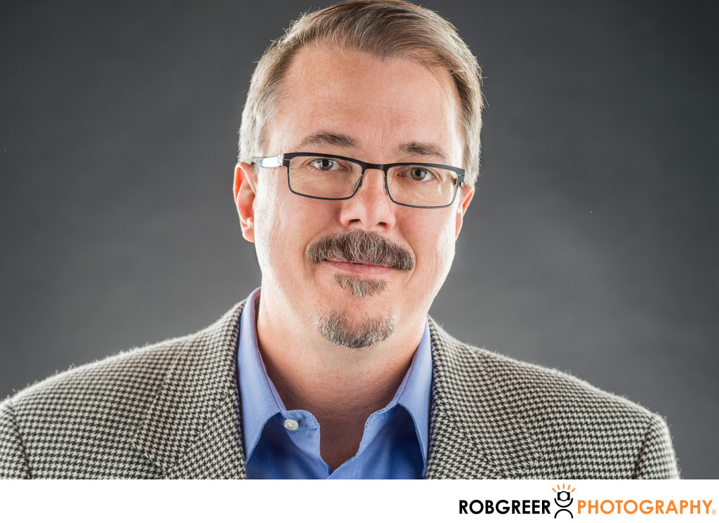 Vince Gilligan Portrait: Breaking Bad Creator