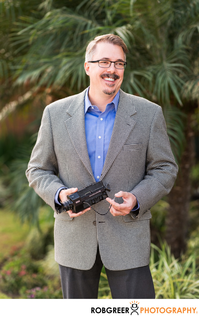 Vince Gilligan: Movie Camera He Used for Short Films