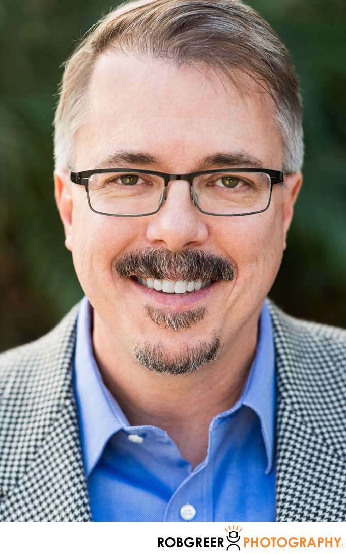 Vince Gilligan: Natural Light Portrait