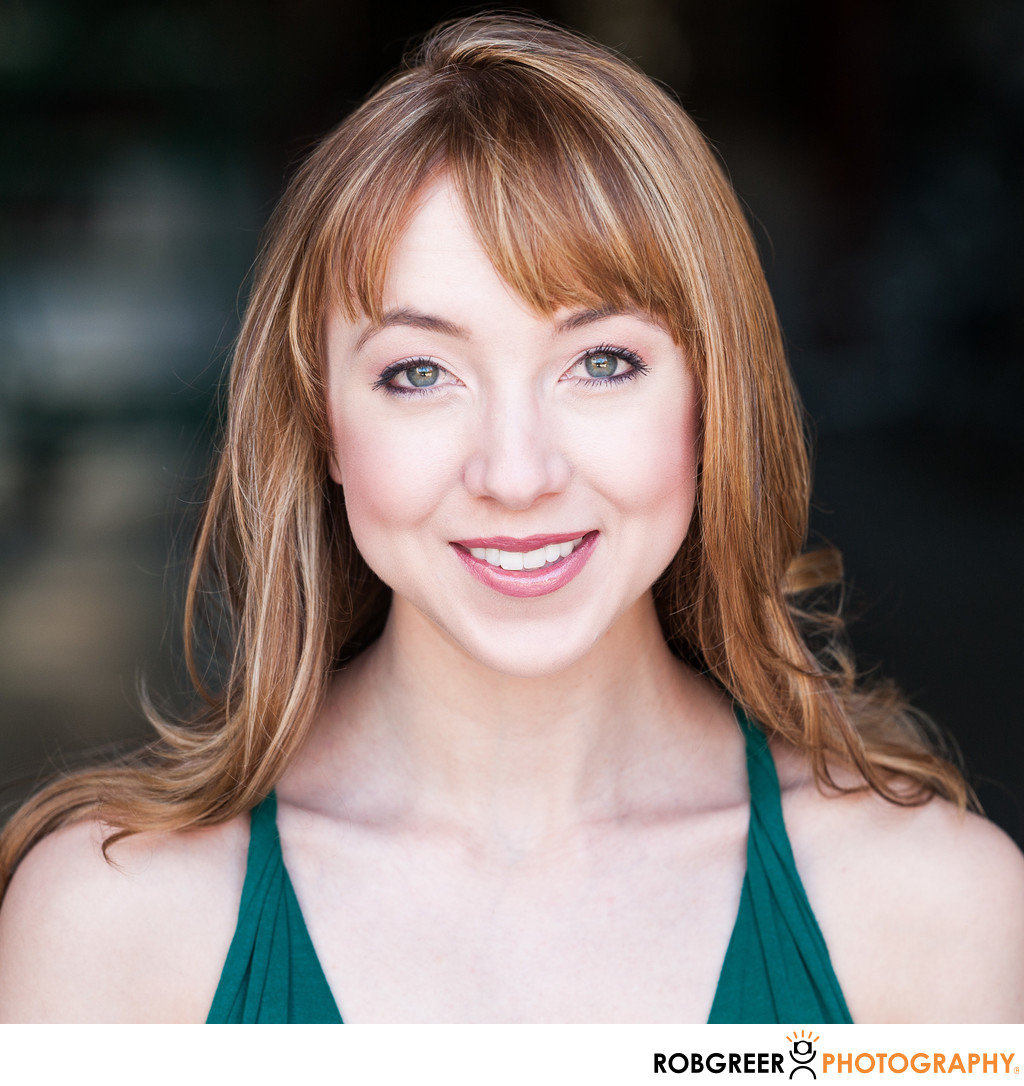Broadway Actress Headshot