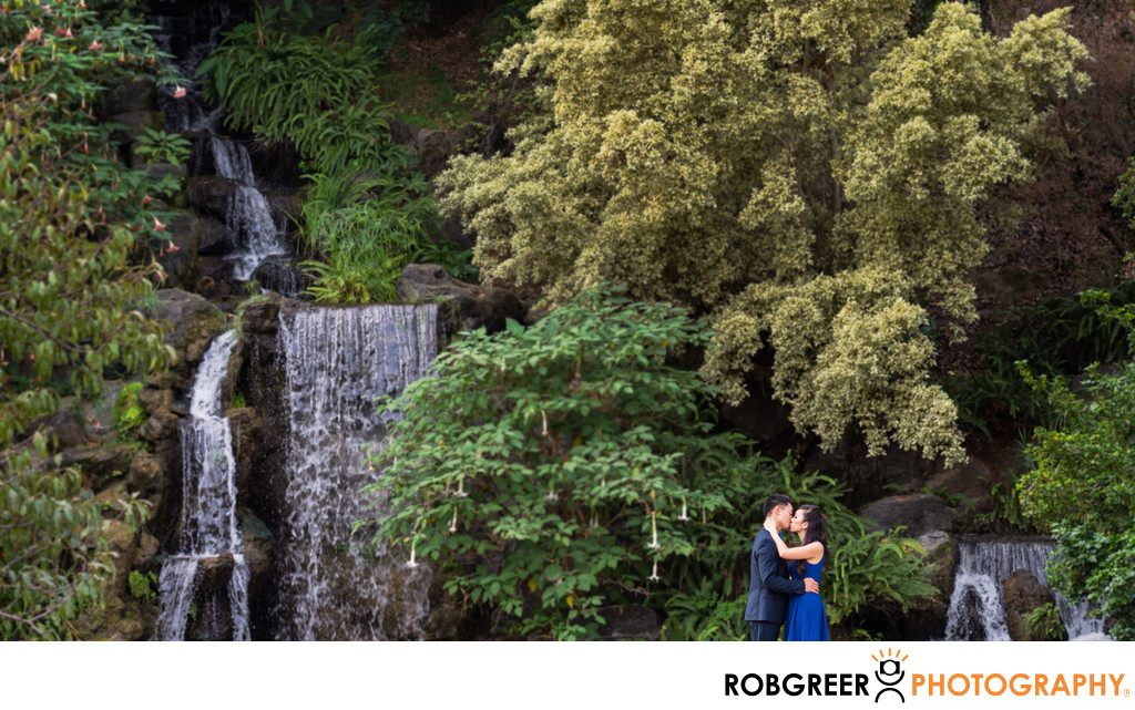Waterfall Engagement Portraits