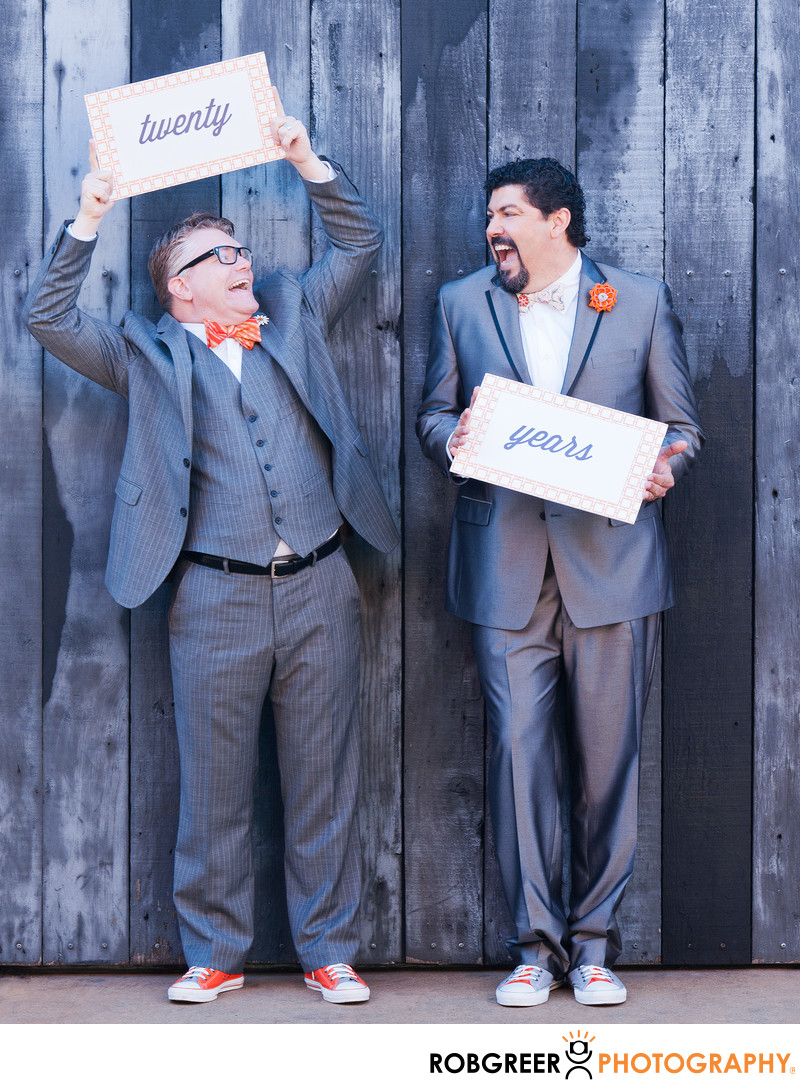 Gay Couple Finally Married after 20 Years