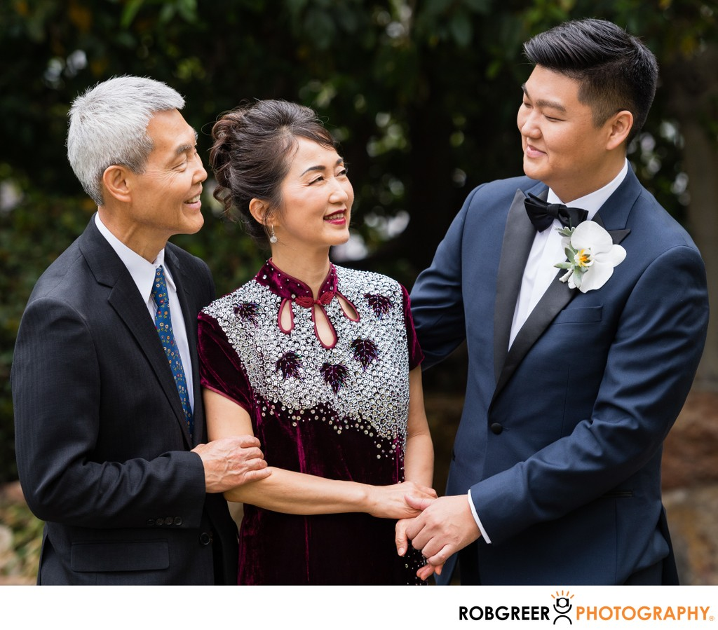 Groom & Parents: Photojournalism