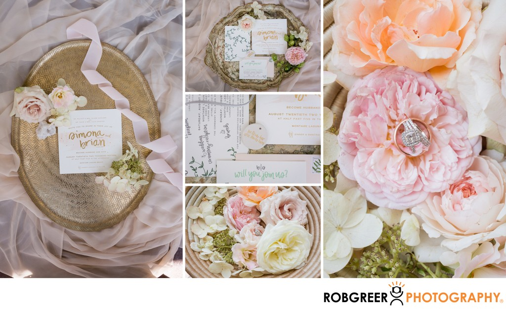 Wedding Details: Styled Invitations
