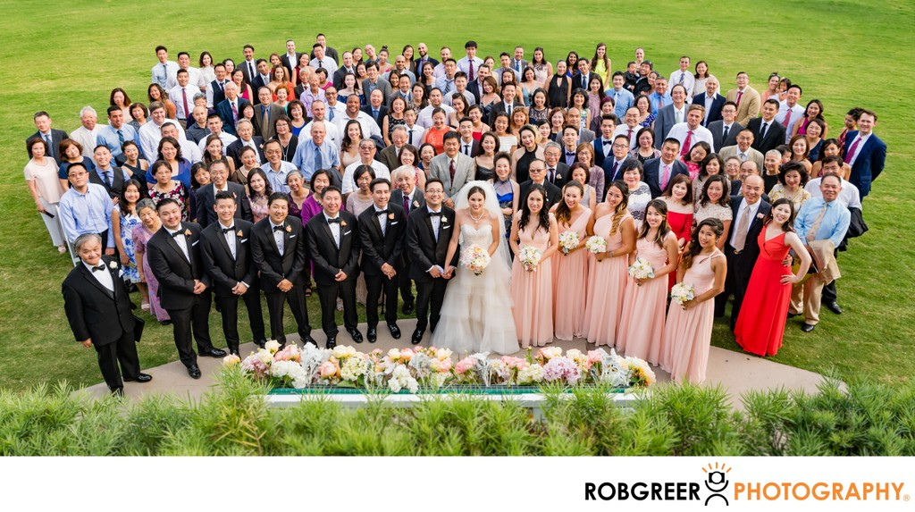 All Wedding Guests: Group Portrait