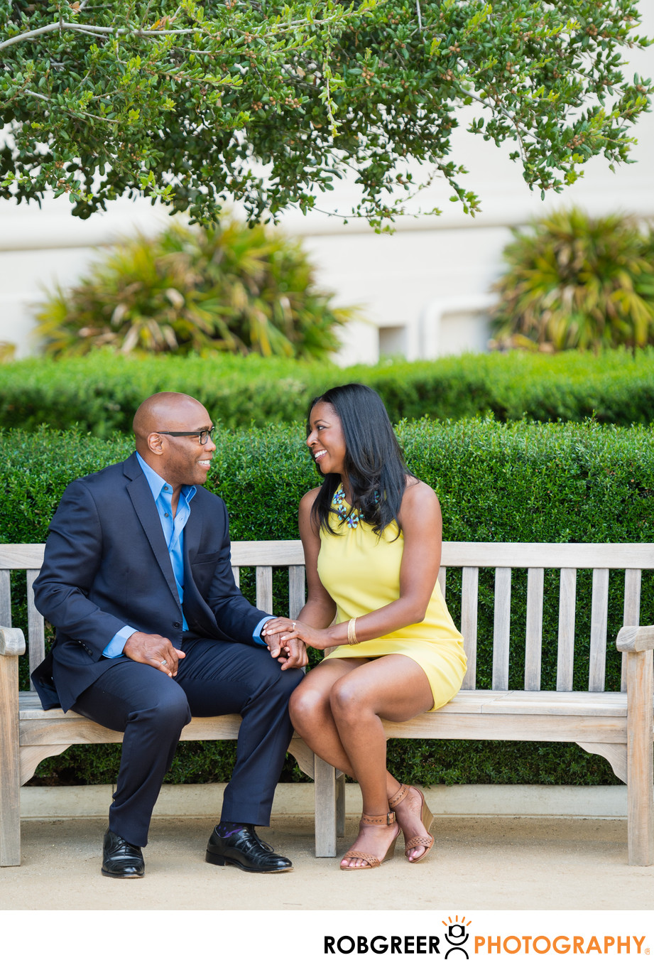 Park Engagement Photography