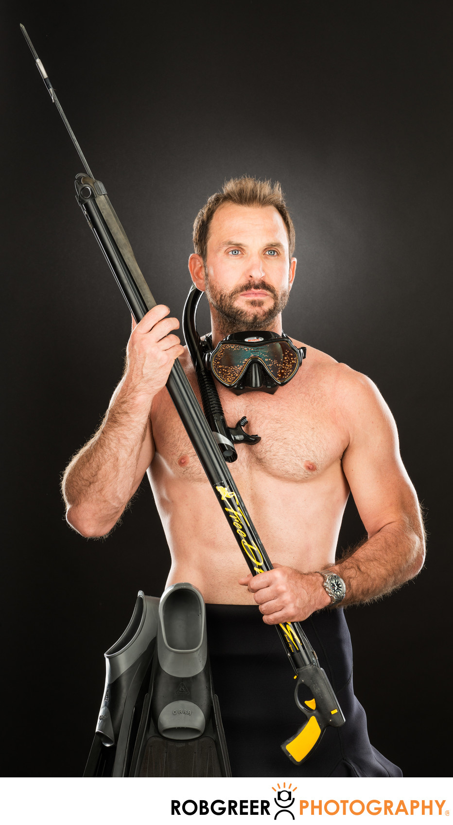 Christopher Dallaglio, Spear Fisherman