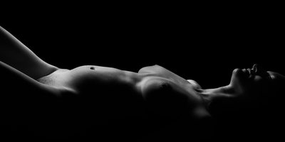 Second Visit - Pregnancy - Supine Fine Art Nude