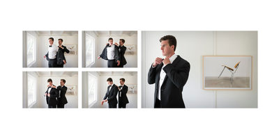 Groom's Brother: Getting Dressed Help