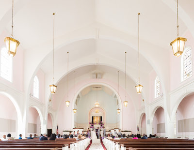 Trinity Church of Santa Monica Wedding Photographer