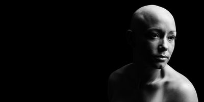 Chiaroscuro Portrait of Double Mastectomy Patient