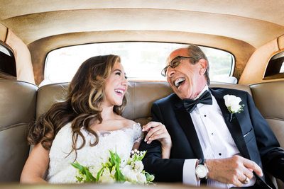 Candid Wedding Photography: Bride & Father