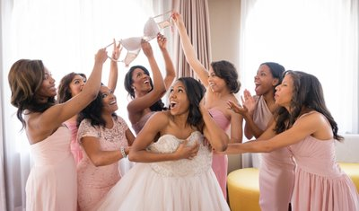 Getting Ready: Bridesmaids