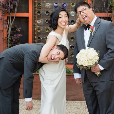 Bride Teases Brothers: Family