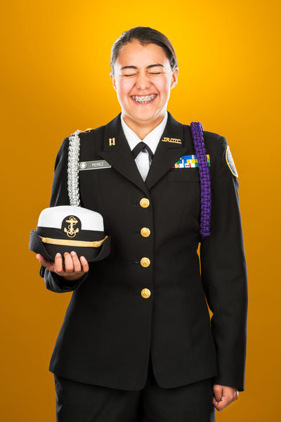 Young Woman, Navy Junior Reserve Office Training Corps