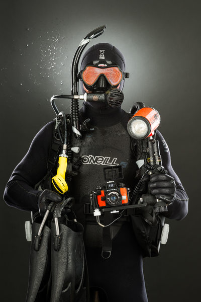 Christopher Dallaglio, Scuba Diver